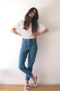 blue-topshop-jeans-white-zara-shirt-white-blink-sandals