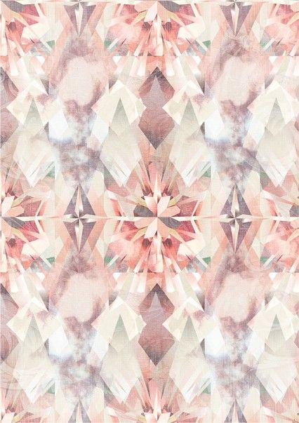 diamond-pink-background